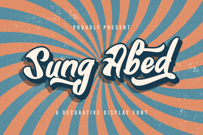sung-abed-decorative-display-font