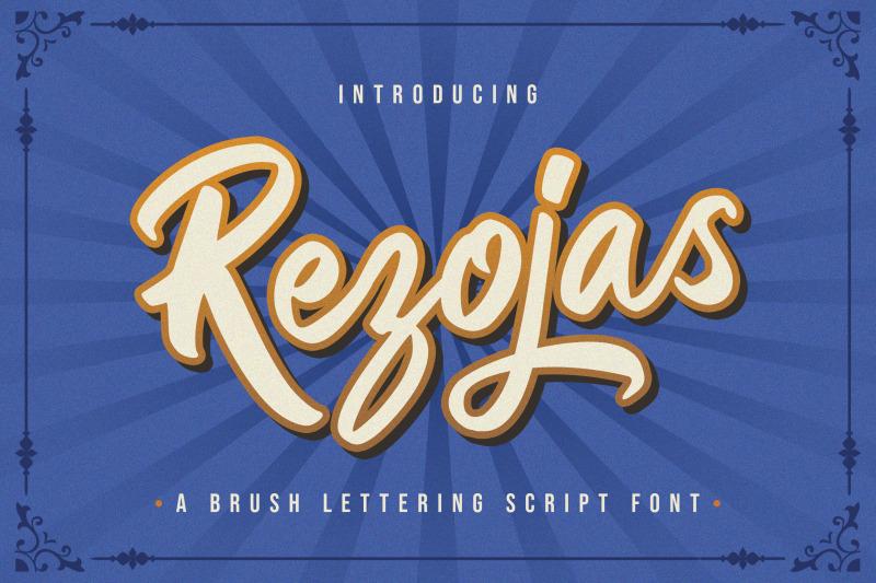 rezojas-bold-script-font