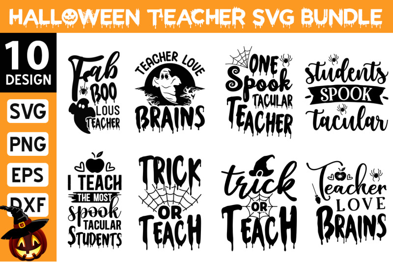 halloween-teacher-svg-bundle
