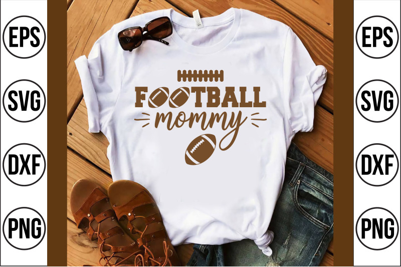 football-mommy-svg-cut-file