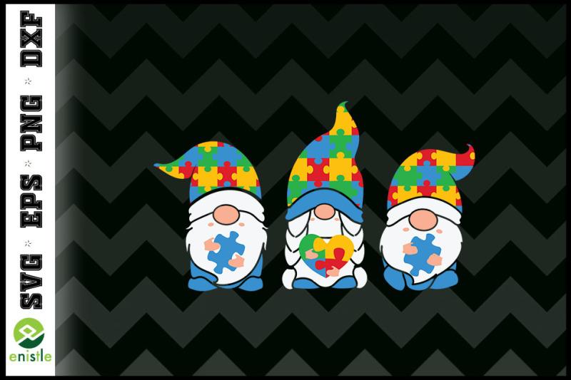 three-gnomes-puzzle-autism-awareness
