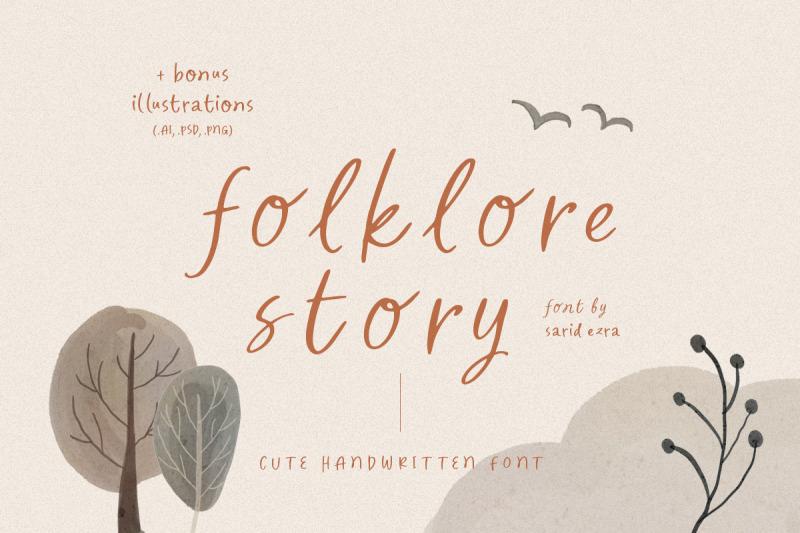 folklore-story-cute-font-bonus