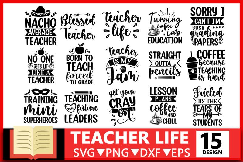 teacher-life-svg-bundle