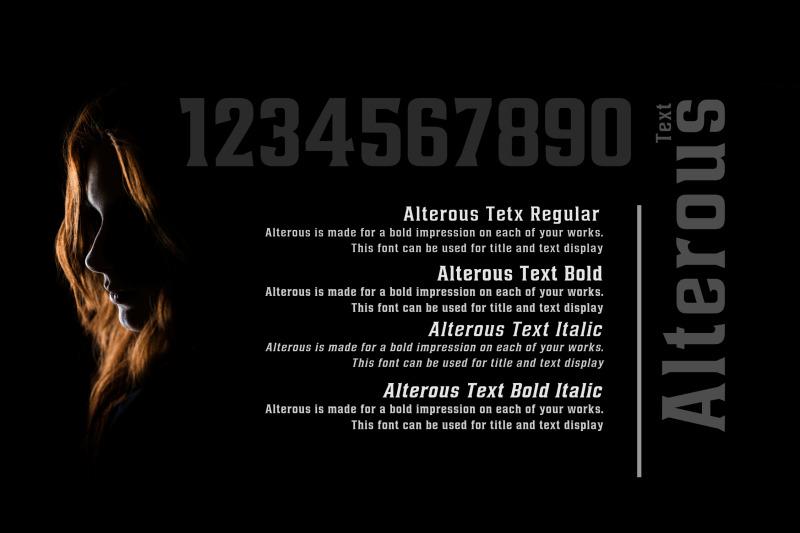 alterous-text