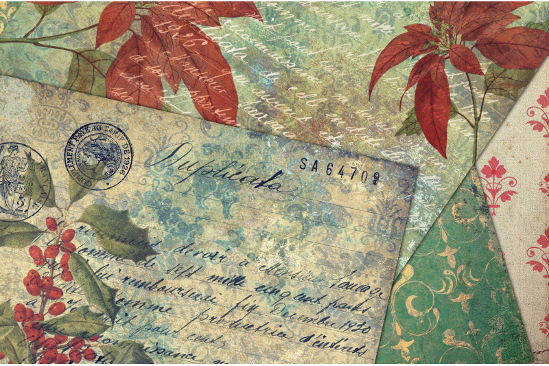 shabby-chic-vintage-christmas-paper