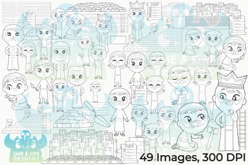 nehemiah-digital-stamps-lime-and-kiwi-designs
