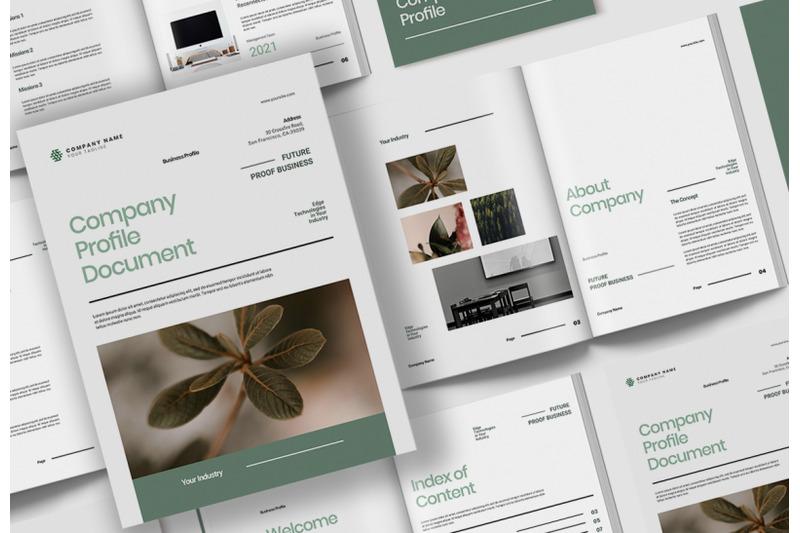 company-profile-document-indesign