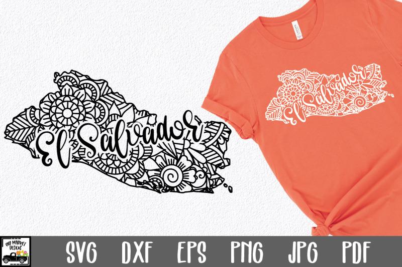 el-salvador-svg-file-el-salvador-mandala-design