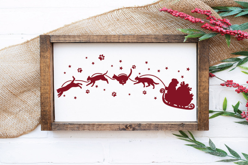 christmas-cat-sleigh-svg-file-santa-and-cats-svg-file