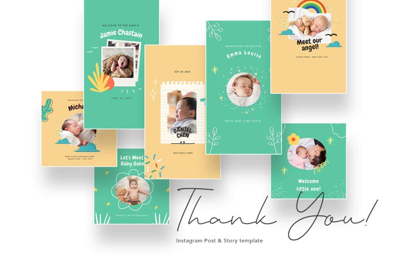 cute-baby-birth-announcement-canva