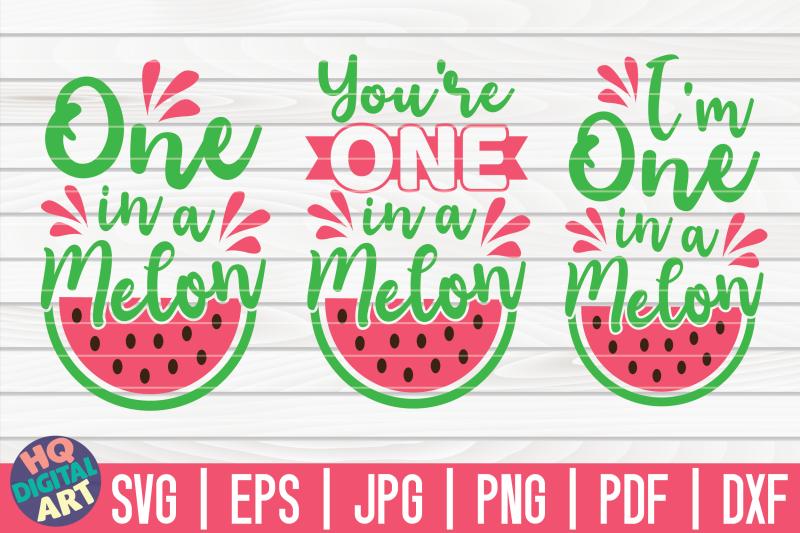 0ne-in-a-melon-svg-bundle-3-variations