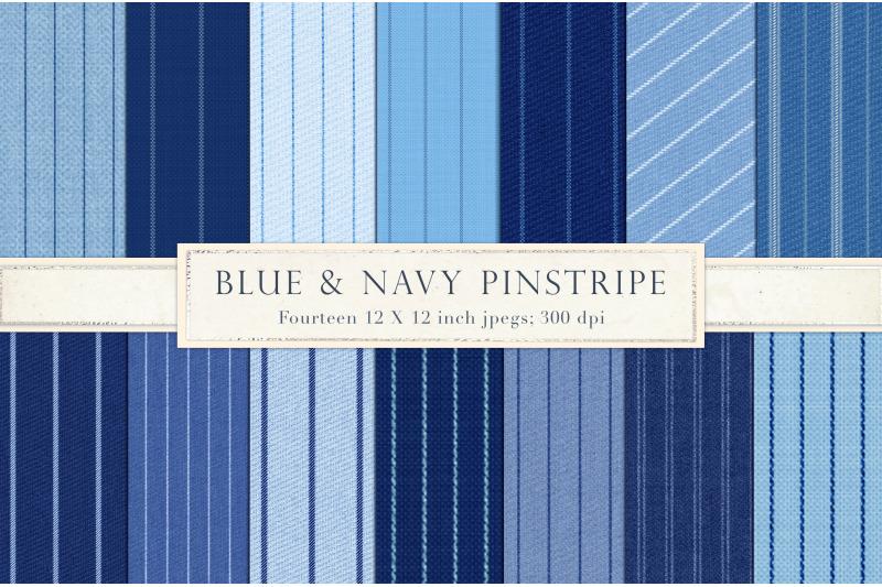 blue-pinstripe-digital-paper