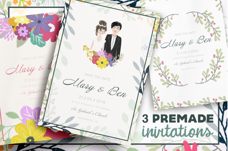 wedding-invitations-template