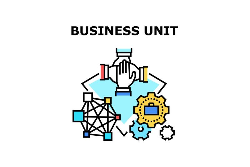 business-unit-vector-concept-color-illustration