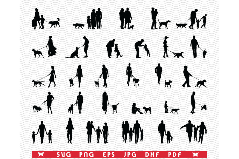 svg-family-dog-black-silhouettes-digital-clipart