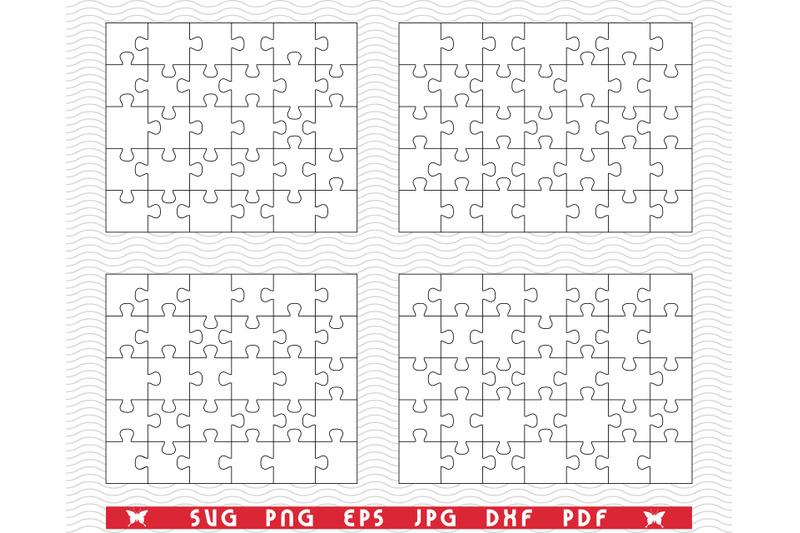 svg-white-puzzles-separate-pieces-digital-clipart