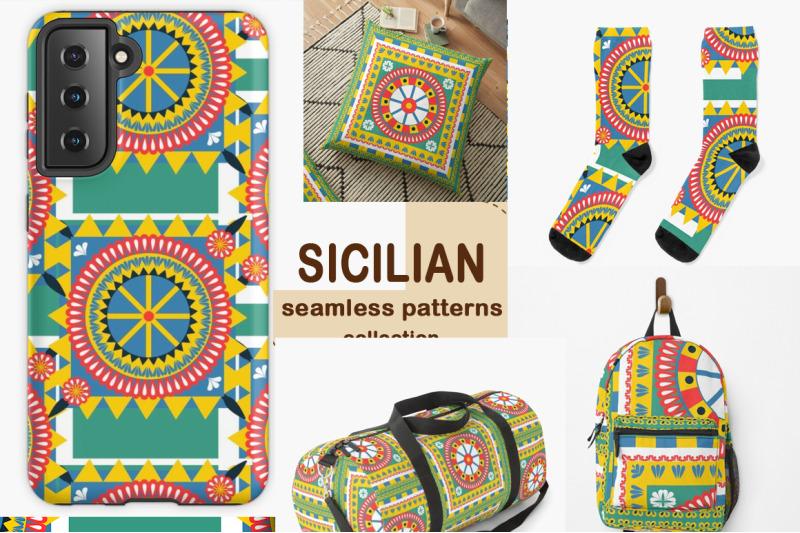 sicilian-carretto-siciliano-pattern-set