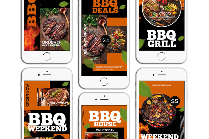 bbq-food-instagram-story-template