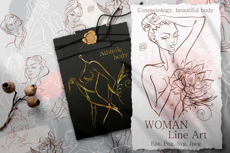 woman-line-art-digital-clipart-png