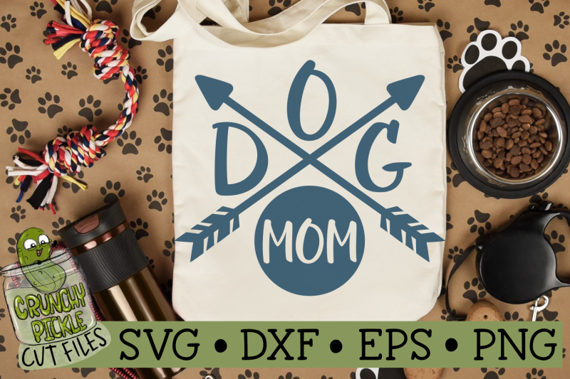 dog-mom-arrows-svg-file
