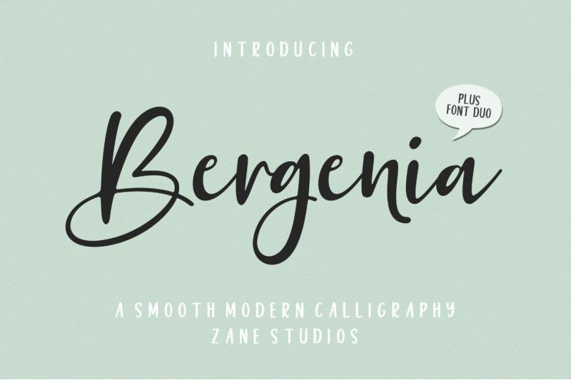 bergenia-script-font-duo