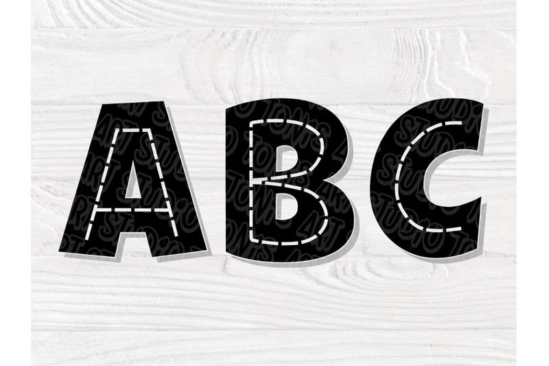construction-font-svg-kids-font-svg-cut-files