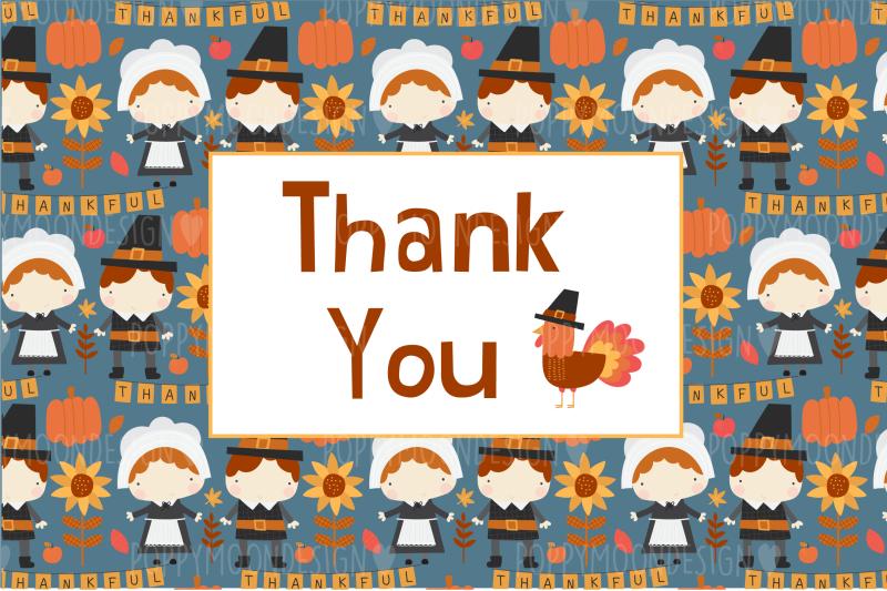 thankful-clipart-set