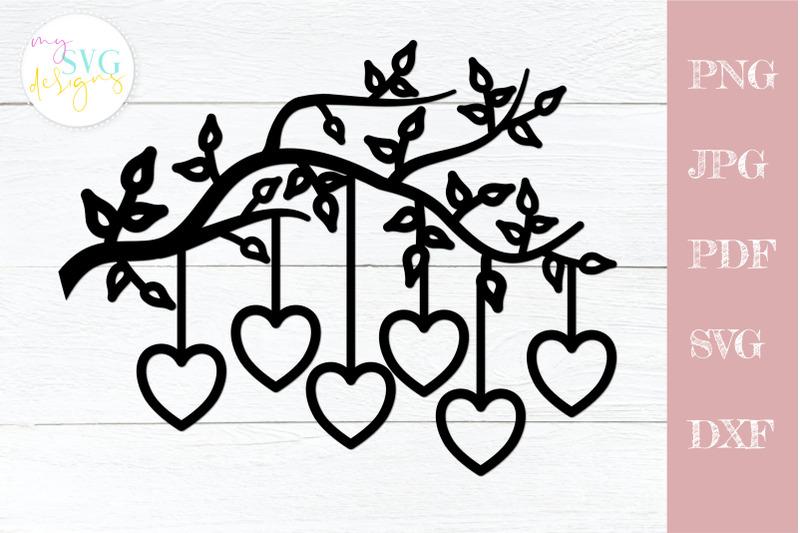 family-tree-svg-6-members-tree-branch-svg-6-hearts