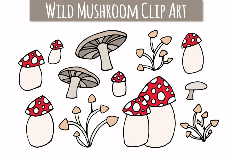 wild-mushroom-clip-art