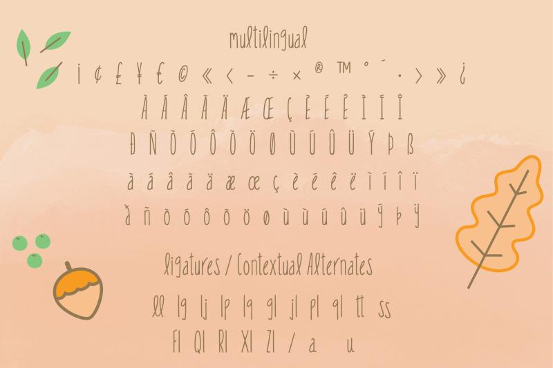 little-fling-font-fun-irregular-lettering-multilingual-amp-ligatures
