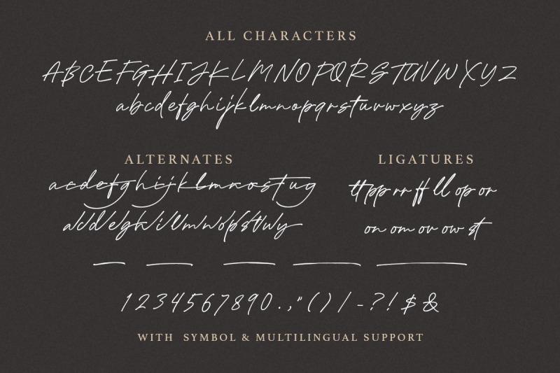 holybuck-signature-font-family