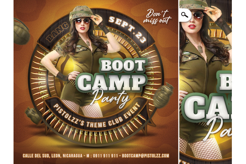 boot-camp-army-themed-flyer
