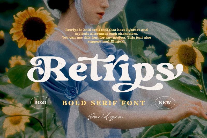 retrips-bold-serif-font
