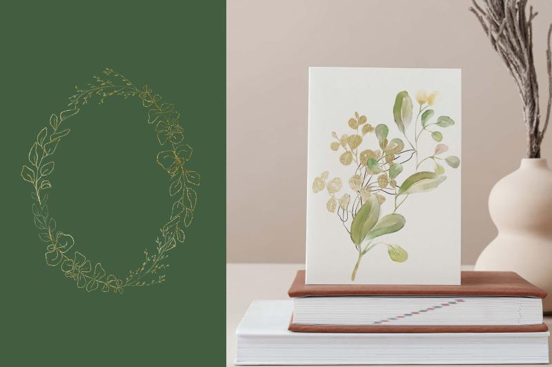 gorgeous-greenery-illustration-set