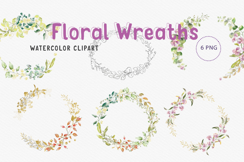 watercolour-round-shaped-wreaths-clip-art-6-png