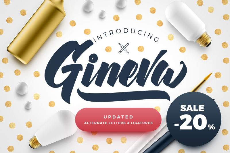 gineva-script-font