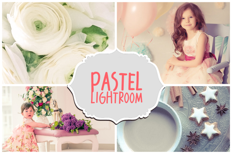 17 Pastel Lightroom Presets Bundle