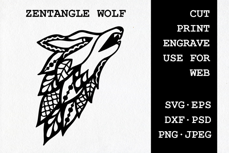 zentangle-wolf-svg-dxf-eps-psd-png-jpeg