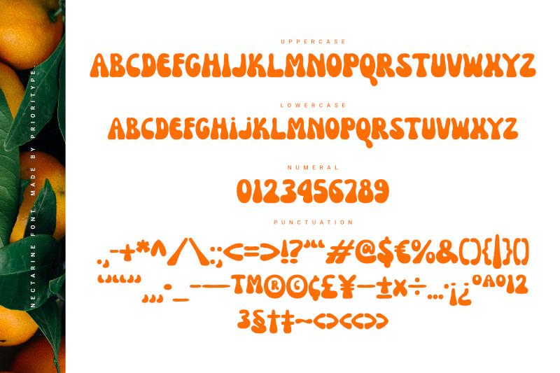 nectarine-display-font
