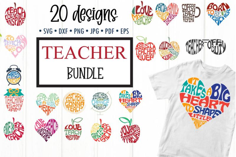 teacher-svg-bundle-teacher-word-art-cut-files