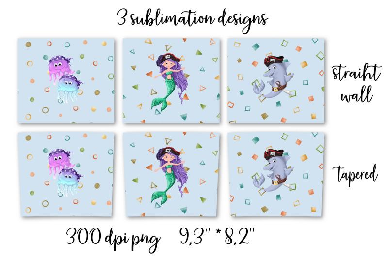 pirates-sublimation-design-skinny-tumbler-wrap-design