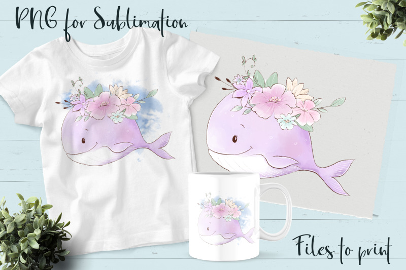 sea-life-sublimation-design-for-printing