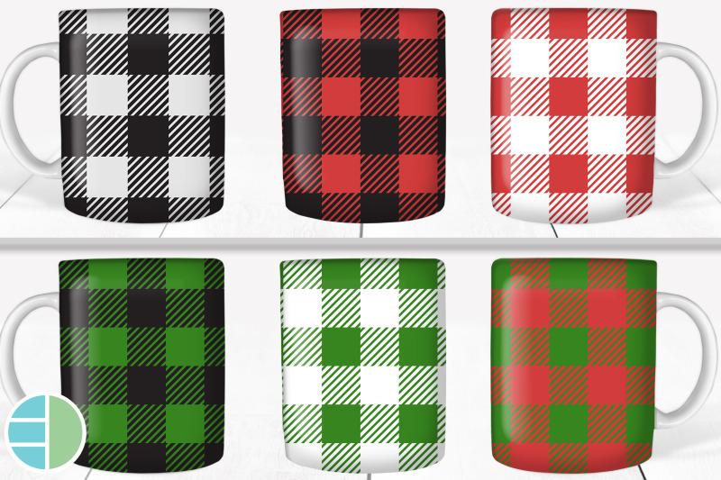 christmas-mug-bundle-buffalo-plaid-mug-bundle-sublimation