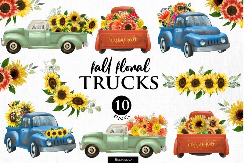 fall-floral-trucks