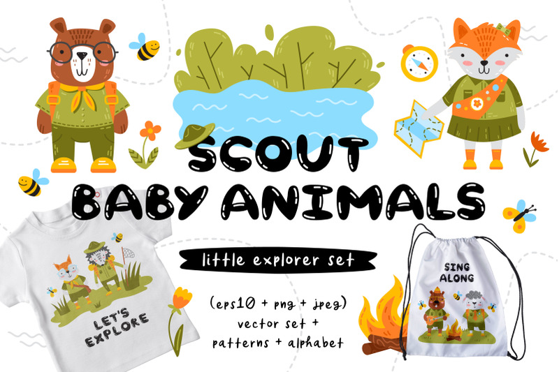 scout-baby-animals-clipart-amp-patterns