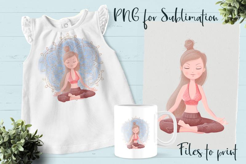 yoga-sublimation-design-for-printing