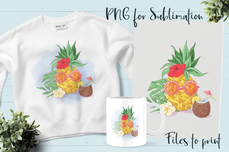 summer-sublimation-design-for-printing