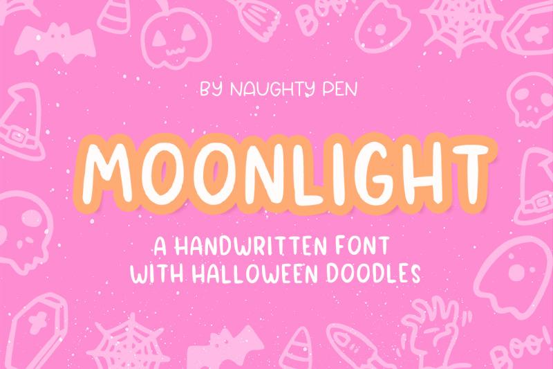 moonlight-halloween-doodle-font