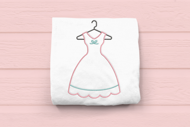 vintage-dress-on-hanger-outline-embroidery