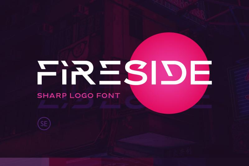 fireside-sharp-logo-font
